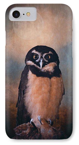 Owl Spirit IPhone Case by Maria Angelica Maira