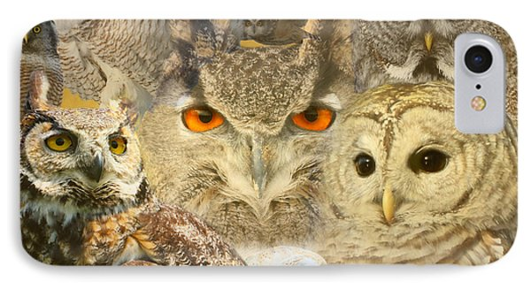 Owl You Need Is Love IPhone Case by Heather King