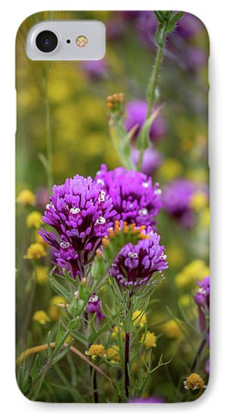IPhone Case featuring the photograph Owl's Clover by Peter Tellone