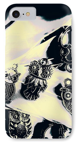 Owls From Blue Yonder IPhone Case by Jorgo Photography - Wall Art Gallery