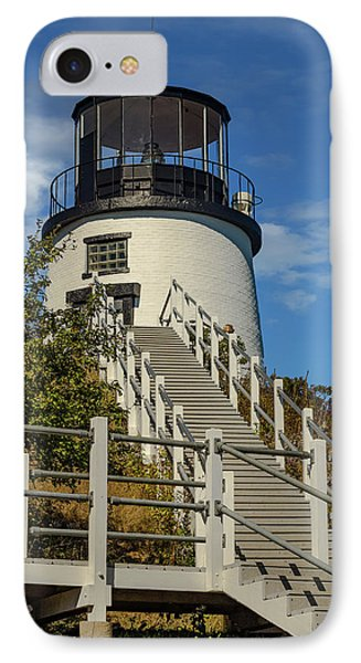 Owls Head Light. Maine IPhone Case by Capt Gerry Hare