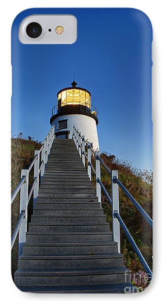 Owls Head Lighthouse Phone Case by John Greim