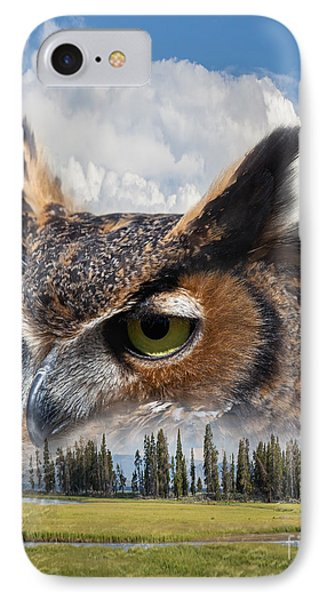 Owl's Rest IPhone Case