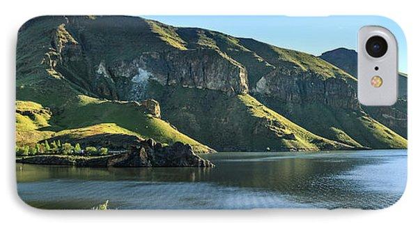 Owyhee Reservoir IPhone Case by Robert Bales