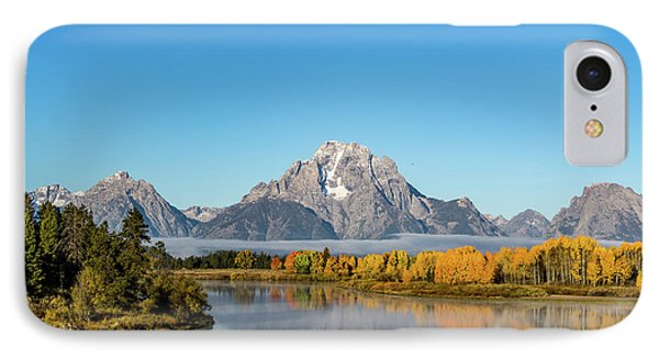 Oxbow Bend Reflecting IPhone Case by Mary Hone