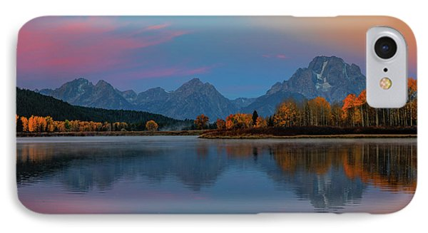 Oxbows Reflections IPhone Case by Edgars Erglis