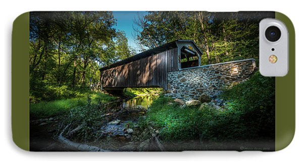 Oxford Pennsylvania Bridge IPhone Case by Marvin Spates