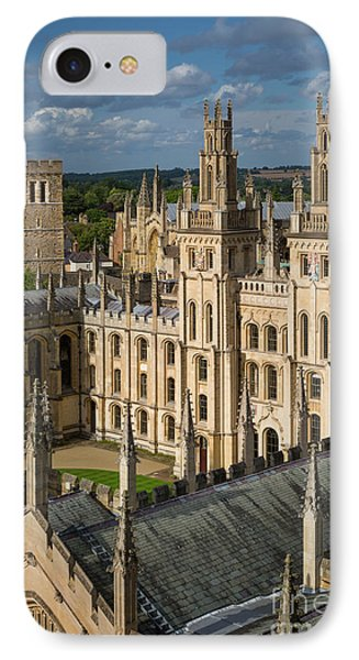 IPhone Case featuring the photograph Oxford Spires by Brian Jannsen
