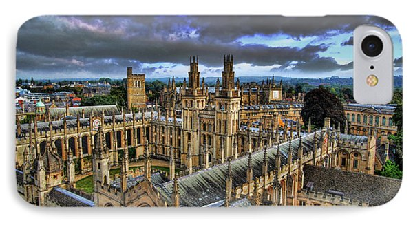 Oxford University - All Souls College Phone Case by Yhun Suarez