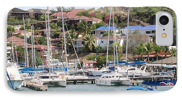 IPhone Case featuring the photograph Oyster Bay Marina by Margaret Bobb