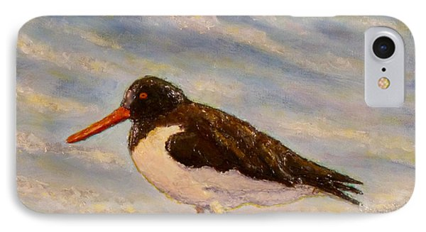 IPhone Case featuring the painting Oyster Catcher by Joe Bergholm