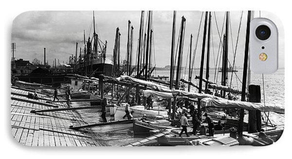 Oyster Luggers, New Orleans Ca 1910 IPhone Case