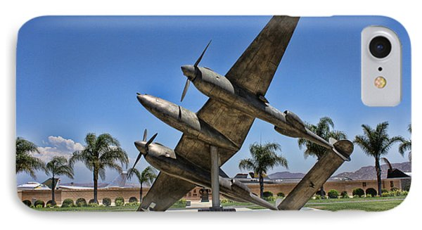 P-38 Memorial March Field Museum Phone Case by Tommy Anderson