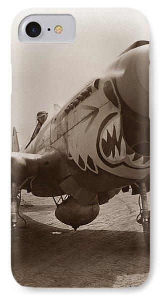 P-40 Warhawk - World War 2 IPhone Case