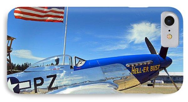 P-51 Hell - Er - Bust IPhone Case