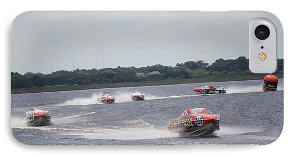 IPhone Case featuring the photograph P1 Powerboats Orlando 2016 by David Grant