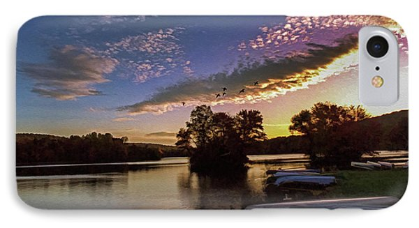 Pa French Creek 2074 IPhone Case by Scott McAllister