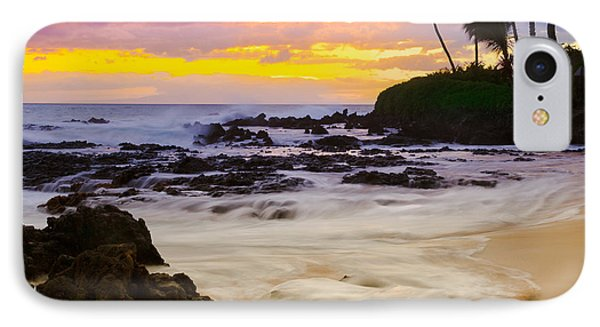 Paako Beach Sunset Jewel IPhone Case by Sharon Mau