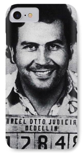 Pablo Escobar Mug Shot 1991 Vertical IPhone Case
