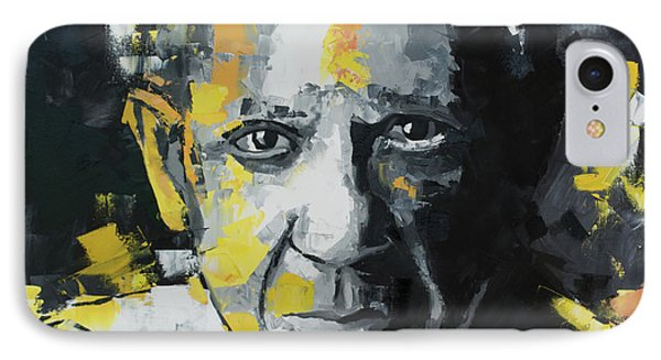 IPhone Case featuring the painting Pablo Picasso Portrait by Richard Day