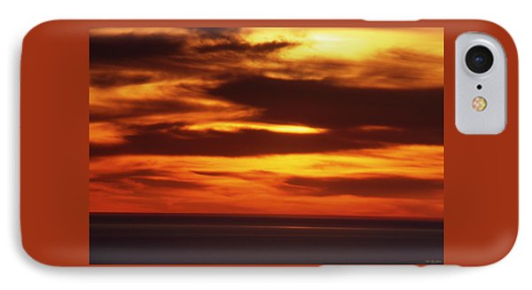 Pacific Backdrop  IPhone Case