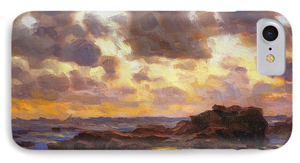 Pacific Ocean iPhone 7 Case - Pacific Clouds by Steve Henderson