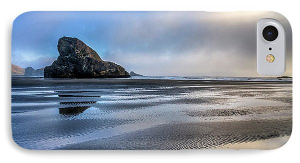 Pacific Coast At Low Tide IPhone Case by Debra and Dave Vanderlaan