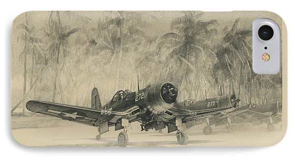 Pacific Corsairs IPhone Case by Wade Meyers