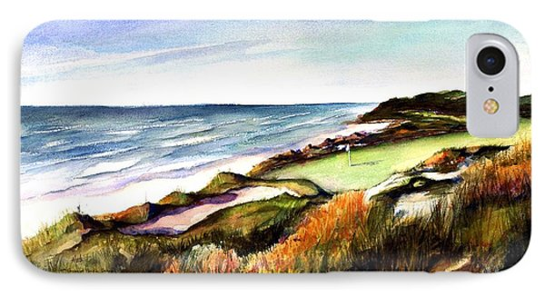 Pacific Dunes Golf Course Phone Case by Marti Green