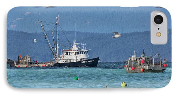 IPhone Case featuring the photograph Pacific Ocean Herring by Randy Hall
