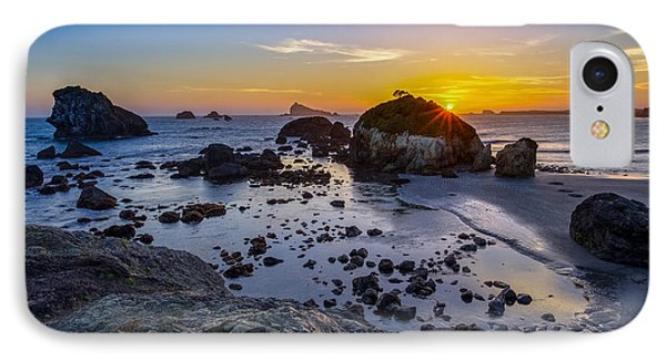 Pacific Ocean Northern California Sunset IPhone Case by Scott McGuire