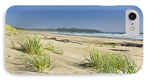 Pacific Ocean Shore On Vancouver Island IPhone Case by Elena Elisseeva