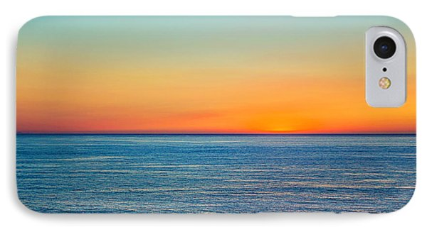 Pacific Ocean Sunset IPhone Case by April Reppucci