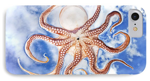Pacific Octopus Phone Case by Mike Raabe