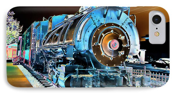 Pacific Southwest Railway And Meseum IPhone Case by Daniel Hebard
