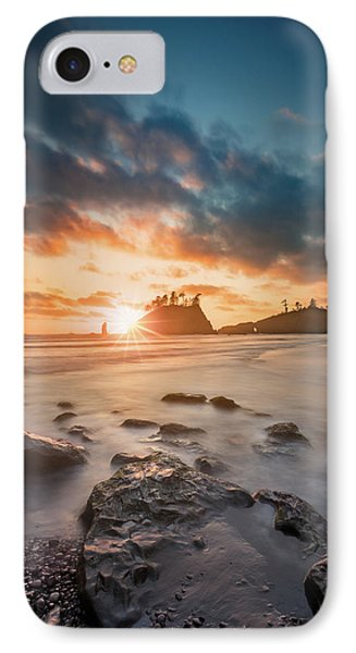 IPhone Case featuring the photograph Pacific Sunset At Olympic National Park by William Lee