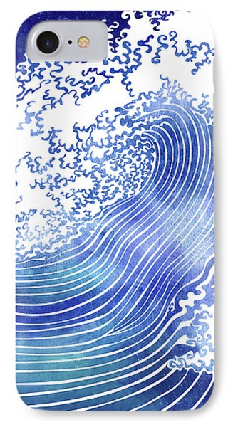 Pacific Waves II IPhone Case