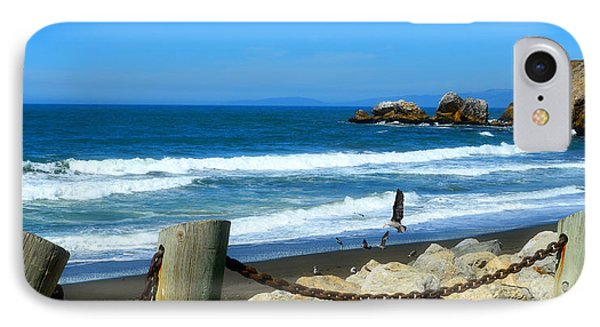 IPhone Case featuring the photograph Pacifica Coast by Glenn McCarthy Art and Photography