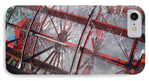 Paddle Wheel No. 7-1 IPhone Case by Sandy Taylor