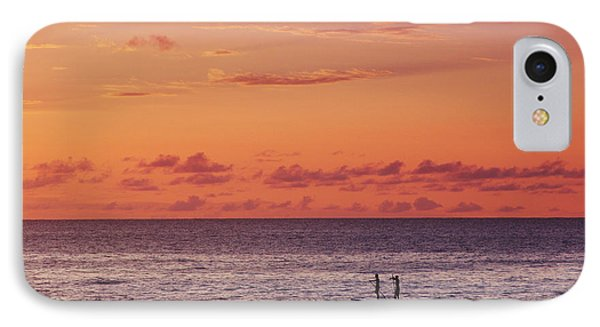 Paddlers At Sunset IPhone Case by Vince Cavataio - Printscapes