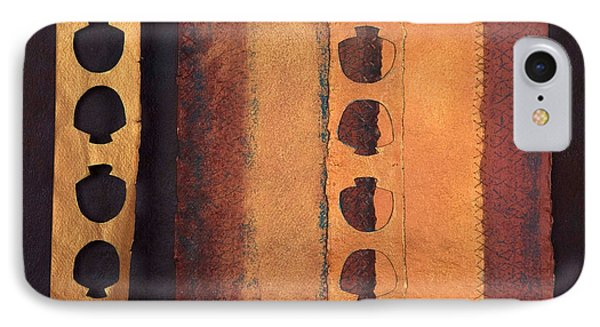 Page Format No 3 Tansitional Series   IPhone Case by Kerryn Madsen-Pietsch