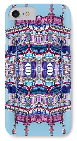 Pagoda Tower Becomes Chinese Lantern 2 Chinatown Chicago Phone Case by Marianne Dow