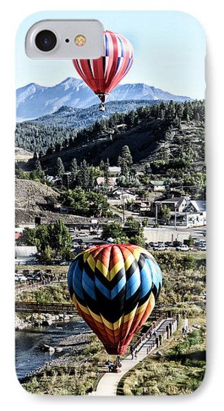 Pagosa Springs Colorfest 2015 IPhone Case by Kevin Munro