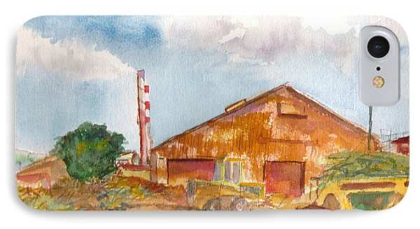 IPhone Case featuring the painting Paia Mill 3 by Eric Samuelson