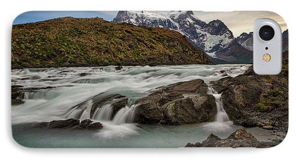 Paine River Rapids #2 - Patagonia IPhone Case