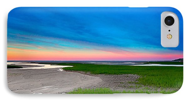 Paines Creek Sunset Cape Cod IPhone Case by Matt Suess