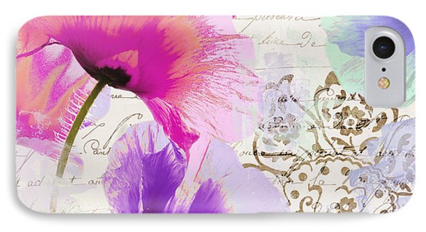 Paint And Poppies IPhone Case by Mindy Sommers