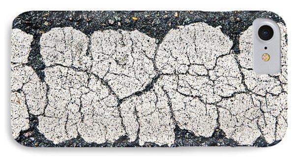 Paint On Asphalt IPhone Case by Tom Gowanlock