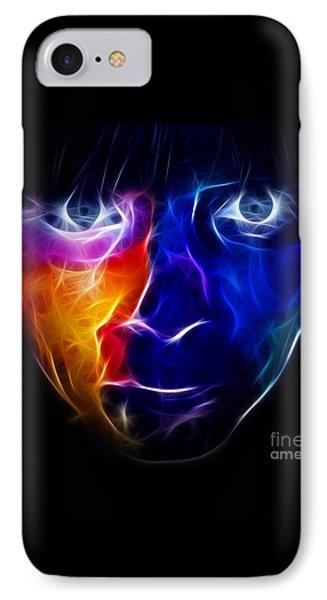 Paint Runs In My Blood Phone Case by Pamela Johnson