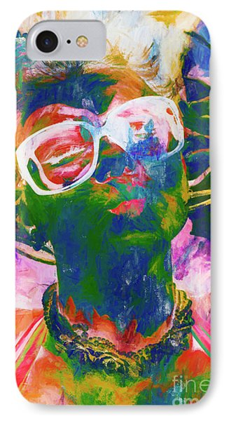 Paint Splash Pinup Art IPhone Case by Jorgo Photography - Wall Art Gallery